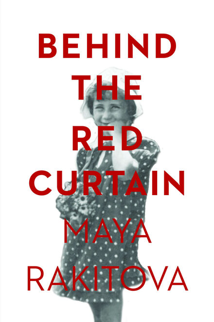 Book Cover of Behind the Red Curtain (Traduction française à venir)