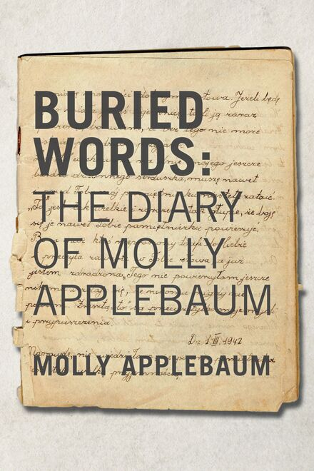 Book Cover of Buried Words: The Diary of Molly Applebaum