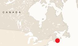 Map of Mukacevo, Czechoslovakia