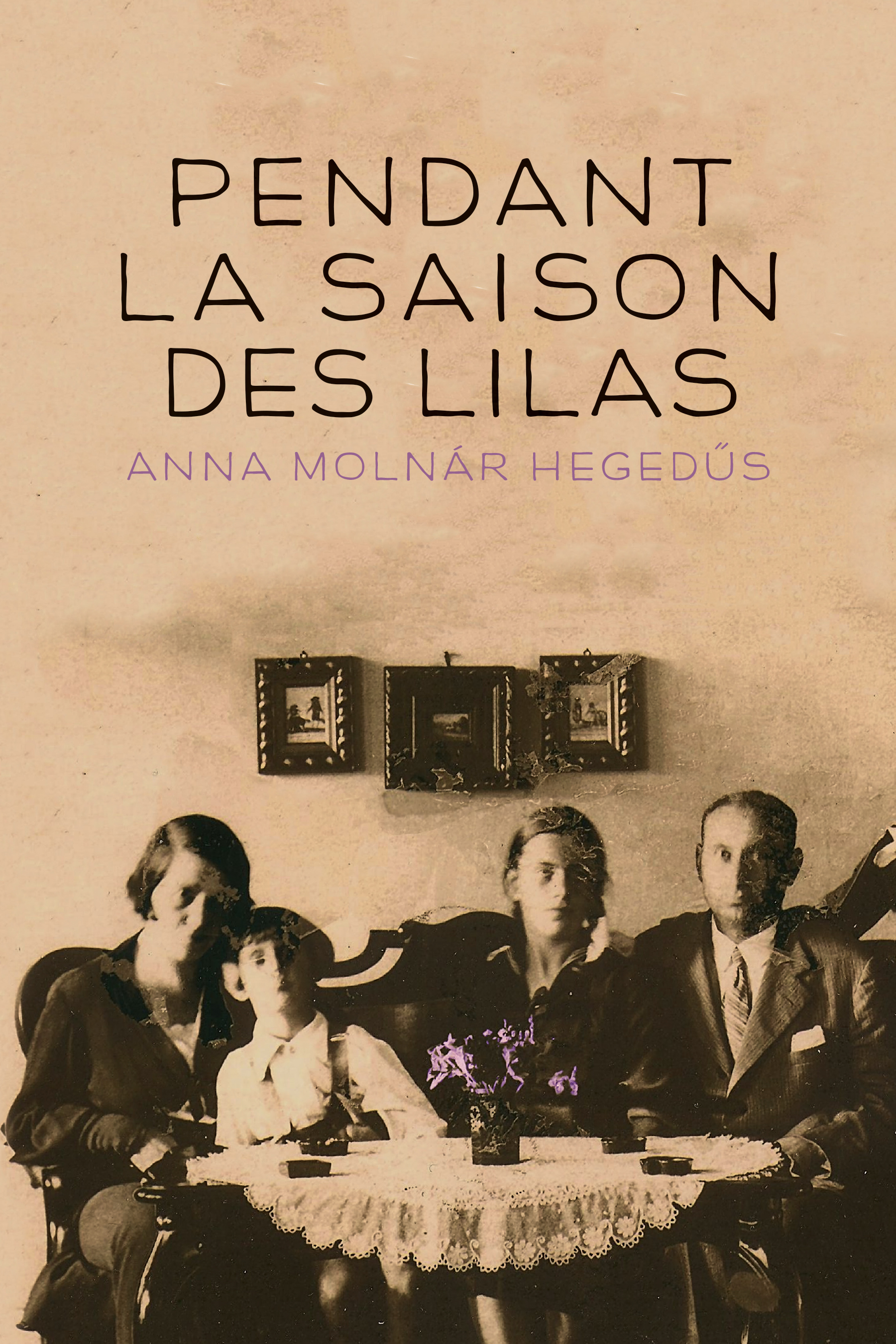 Au temps des lilas book cover