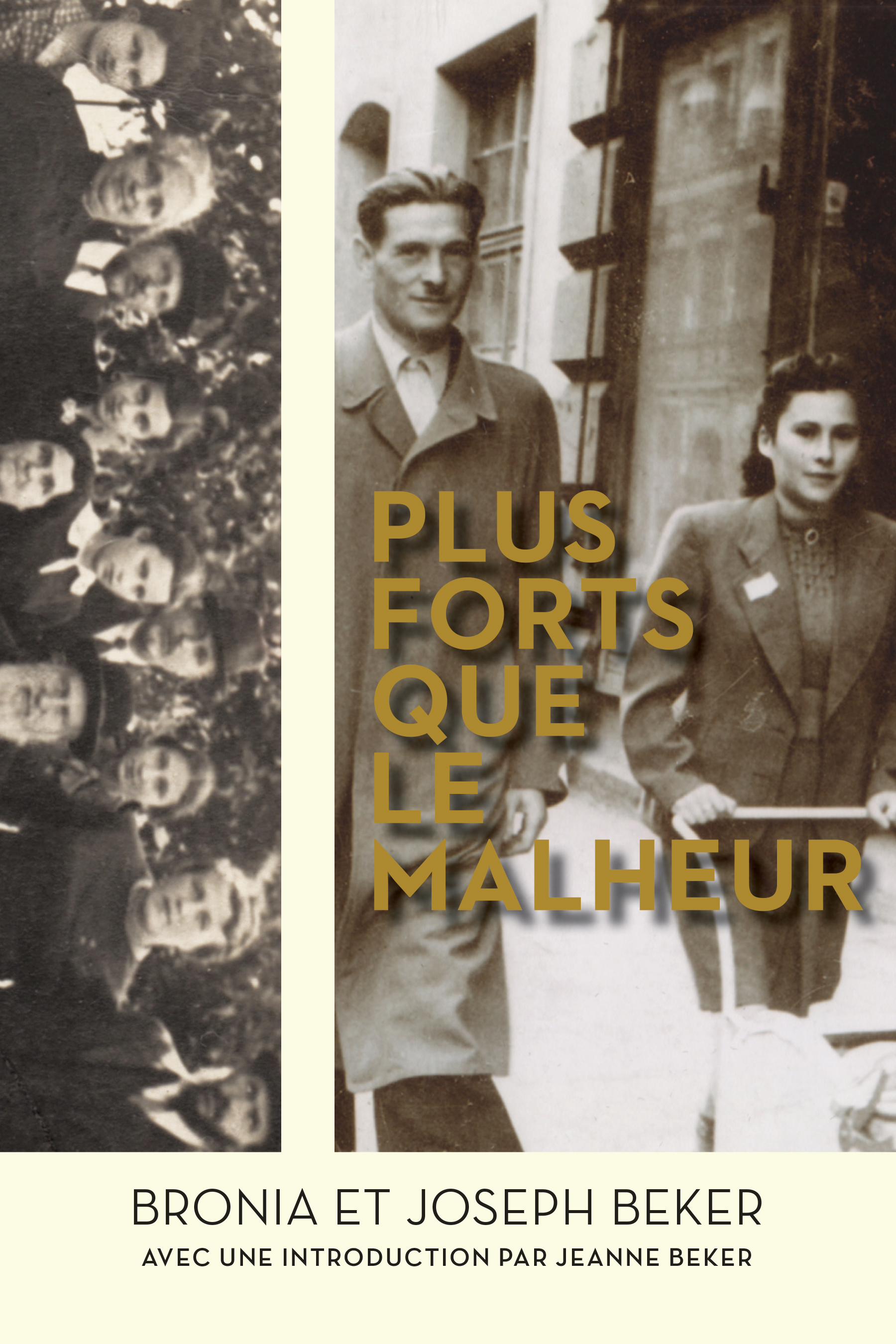 Plus forts que le malheur book cover