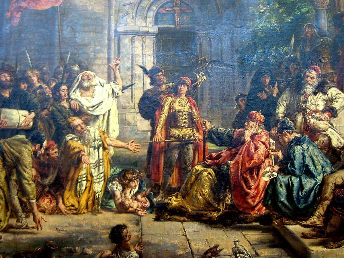 Image result for jews arrive poland 1096
